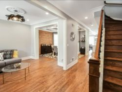 Chicago Custom Home conversion 2-flat to single family